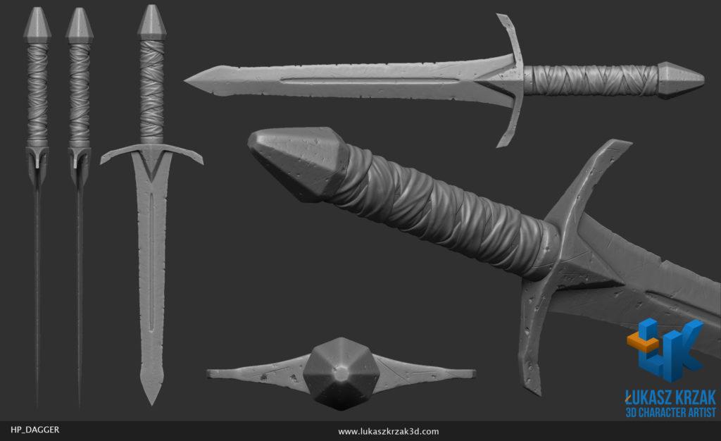 lukasz_krzak_3d_artist_hp_dagger_1