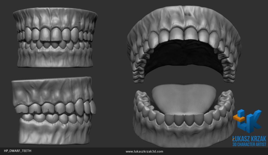 lukasz_krzak_3d_artist_hp_dwarf_teeth